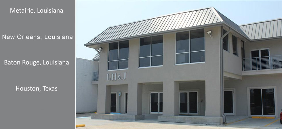 Office locations linfield hunter junius inc for Metairie architects